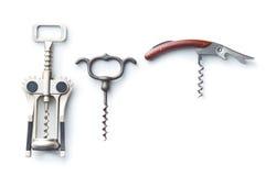 Free Various Types Of Corkscrews. Stock Photo - 90919590