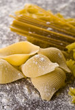 Various types of pasta Stock Image