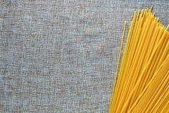 Various types of pasta Italian Spaghetti Royalty Free Stock Photo