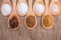 Various Types Of Sugar VI Royalty Free Stock Photography