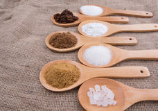 Various Types Of Sugar VIII Stock Photos