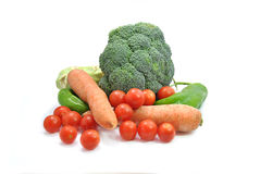 Various types of vegetables Royalty Free Stock Photo