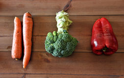 Various types of vegetables Stock Photo