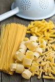 Various uncooked pasta Stock Photos