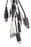 Various usb connectors Stock Images