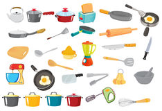 Various utensils vector illustration