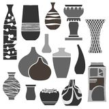 Various Valuable Vases Royalty Free Stock Photography