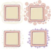 Various of vector frames Royalty Free Stock Photo