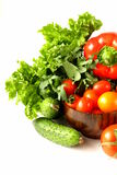 Various vegetables Stock Images