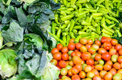 Various vegetables. Various fresh and clean vegetables Stock Photo