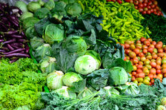 Various vegetables. Various fresh and clean vegetables Stock Image