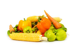 Various vegetables isolated Stock Photos