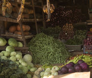 Various vegetables on market in asia sri lanka Royalty Free Stock Image
