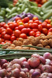 Various vegetables at vegetable market Stock Image