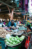 Various vegetables at vegetable market Royalty Free Stock Photos