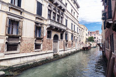 Various views of the tourist city of Venice, Italy Royalty Free Stock Image
