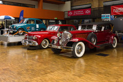 Various vintage cars Stock Images