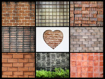 Various walls Stock Photography