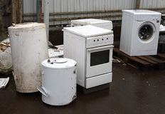 Waste houshold appliances