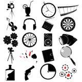 Various web icons. Designer collection Stock Photos