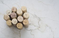 Various wine corks Stock Photo