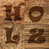 Various wood backgrounds Royalty Free Stock Photography