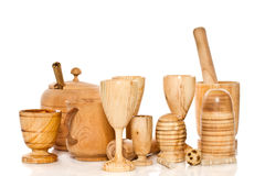 Wooden ware Stock Photography