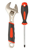 Various work tools Royalty Free Stock Images