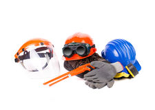 Various working equipment close up. Stock Image