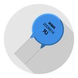 Varistor de la imagen del vector Foto de archivo
