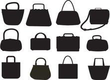 Varities of Handbags Royalty Free Stock Photo