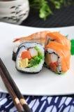 Varities sushi dish Stock Photo