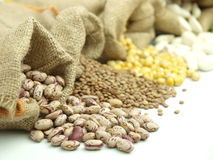 Varius legumes Stock Photo