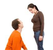 varje maka annan till att skrika för fru Arkivfoton