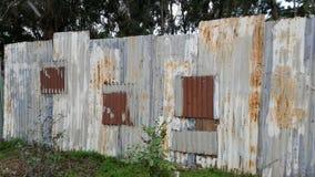 Varje staket är ett konstverk arkivbild