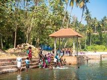Varkala παλαιό καλά, Κεράλα, Ινδία Στοκ φωτογραφία με δικαίωμα ελεύθερης χρήσης