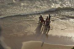 Varkala海滩 免版税库存图片