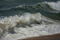 Varkala Beach. The sea at Varkala beach in India Royalty Free Stock Photos