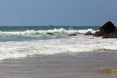 Varkala beach in the day Stock Images