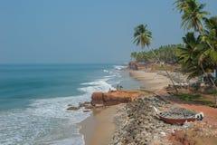 Varkala beach, Kerala, India Stock Photography