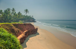 Varkala beach, Kerala, India Royalty Free Stock Photo