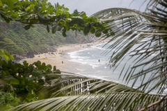 Varkala beach in Kerala, India Stock Photos