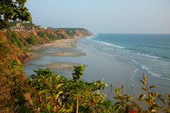 Varkala Beach, Kerala, India Stock Photography