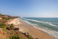 Varkala beach Stock Photography