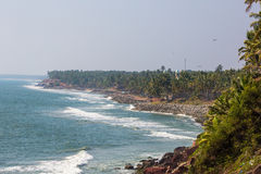 Varkala beach Royalty Free Stock Images