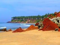 Varkala, Kerala. Stock Photos
