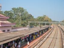 Varkala, Kerala, la India Imágenes de archivo libres de regalías