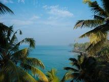 Varkala, Kerala, la India Imagen de archivo libre de regalías