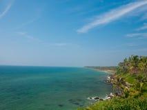 Varkala, Kerala, South India stock image