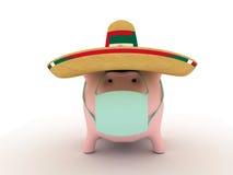 varkens griep   royalty-vrije illustratie